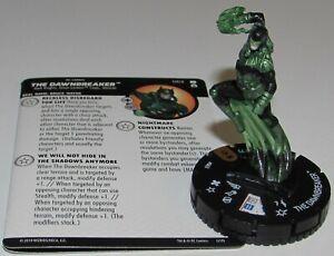 The Dawnbreaker 063 Dc Universe Rebirth Heroclix Poursuite Rare Métal