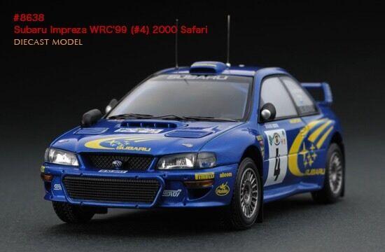 HPI Safari Rally Subaru Impreza RS WRX STI WRC '99 1 43