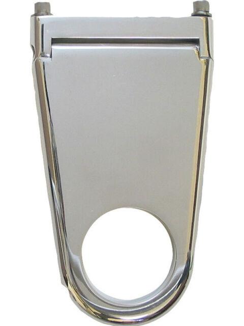 "Borgeson Billet Alum Solid Column Drop 2"" Dia X 2"" Polished -Swivel- (911202)"