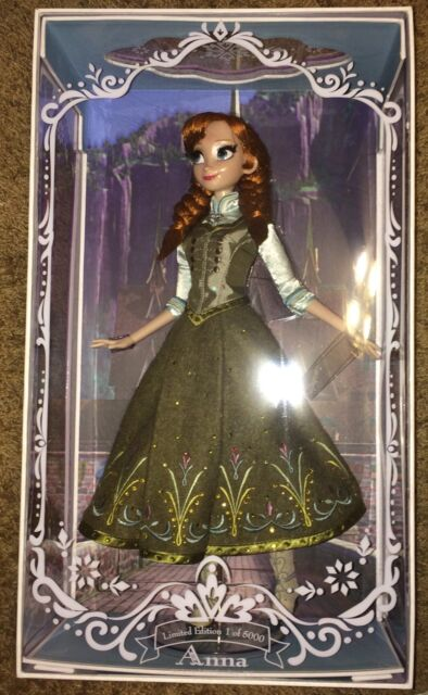 Disney Store Summer Anna Doll 17 LE Limited Edition Frozen 2015