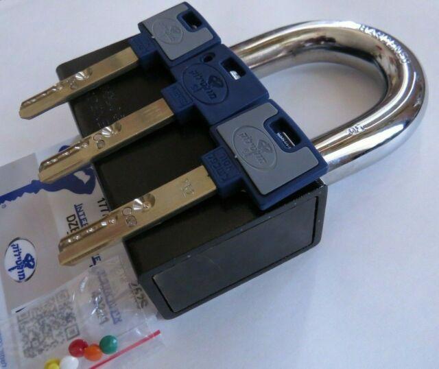 2 PCS MUL-T-LOCK INTERACTIVE C 16 C-Series high security padlock 16mm 5/8