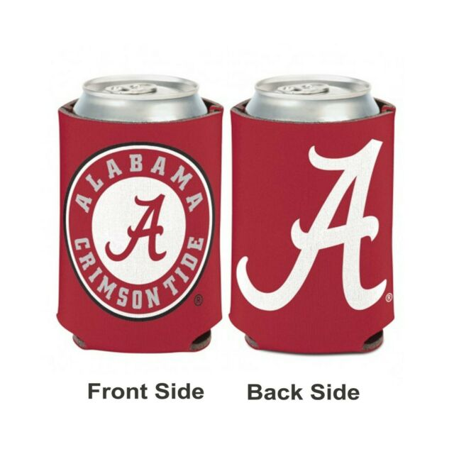 WinCraft NCAA Alabama Crimson Tide 1 Pack 12 oz 2-Sided Can Cooler