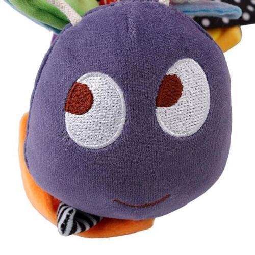Kids Rattle Toy Bee Crib Hanging Bell Baby Car Seat// Pram //Stroller Toys FI