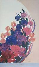 Henry Howells print, summer symphony -56x64cm, original floral poster