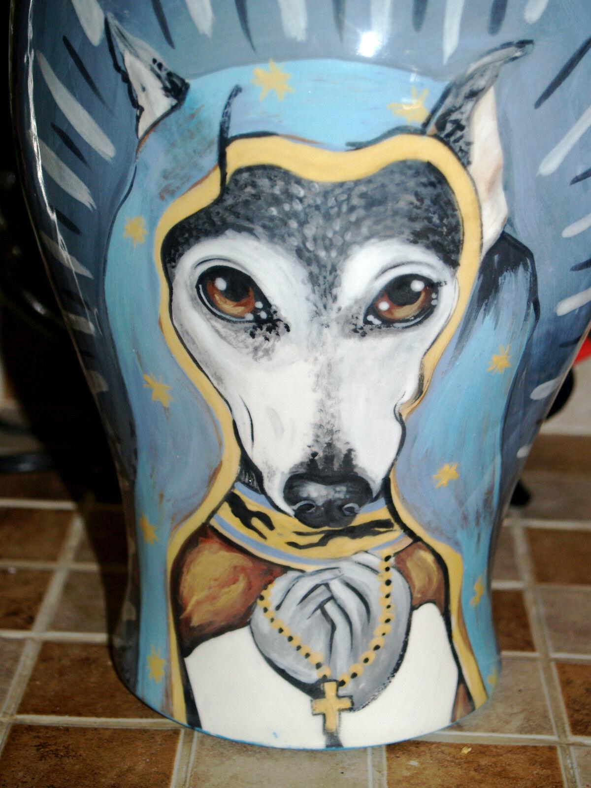 Personalizzato Memoriale Burial Animale Cane Gatto Urna Cremazione LG Greyhound