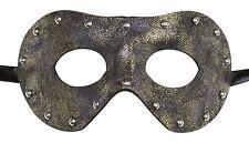 Men's Rustic Leather Masquerade Mask Dominatrix 50 Shades of Gray Punk Rock Prom