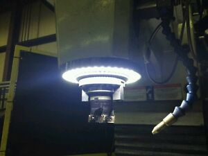 Bridgeport Mill For Sale >> VISION 4.0 LED RING LIGHT 126 LEDS CNC MILL MAGNETIC HAAS ...