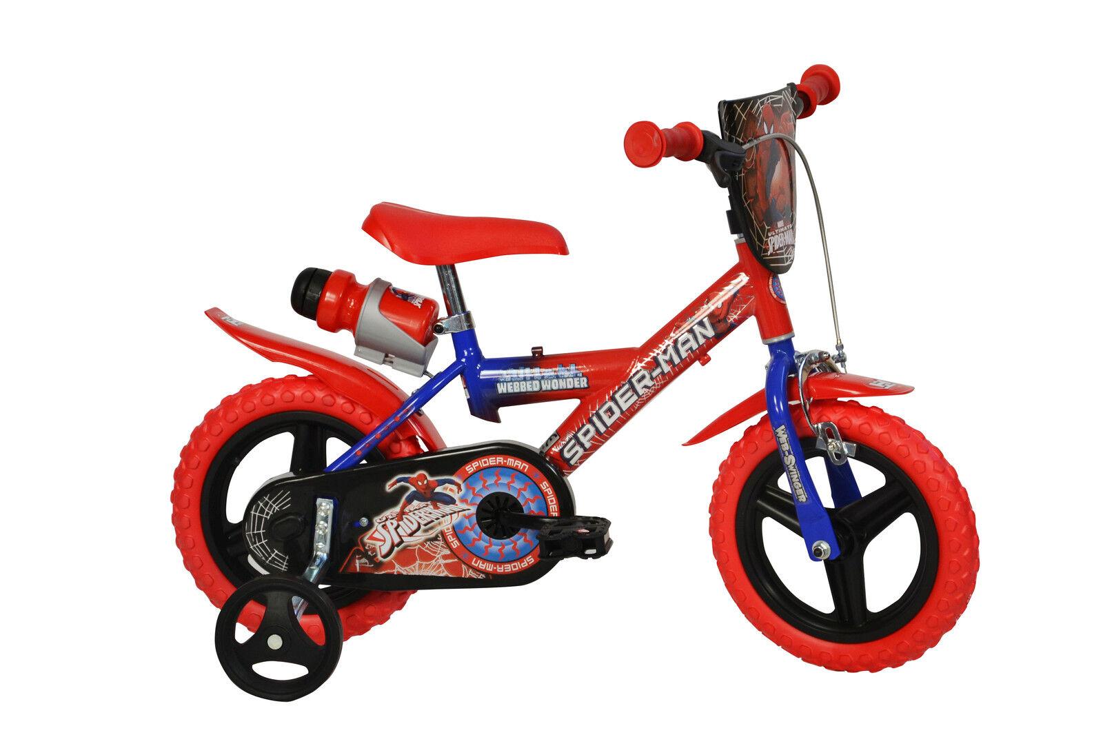 12 Zoll Kinderfahrrad Spiderman Original Original Original Lizenz Kinderrad Fahrrad Spielrad e163b0