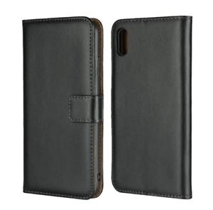Magnetique-PU-en-cuir-Book-Flip-Case-cover-Verre-Trempe-pour-iPhone-8