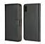 Magnetique-PU-en-cuir-Book-Flip-Case-cover-Verre-Trempe-pour-iPhone-8 miniature 1