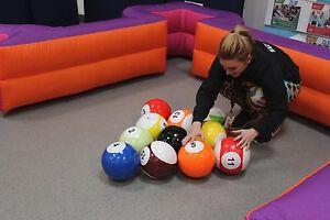 Inflatable Foot Pool Table Football Pool Snook Ball Human - Human pool table