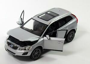VOLVO-XC60-1-24-escala-Diecast-Coche-de-Juguete-Modelo-de-Metal-Miniatura-XC-60-Plata