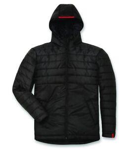DUCATI-METRO-SteppJacke-WinterJacke-Mantel-Jacket-schwarz-NEU
