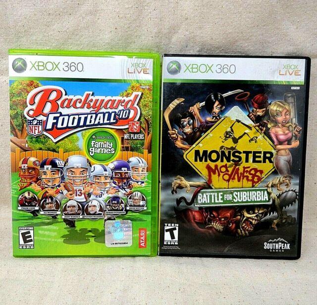 Backyard Football '10 (Microsoft Xbox 360, 2009) for sale ...