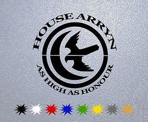 Sign Game of Thrones Sticker Decal Vinyl Arryn Sigil