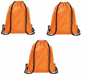 Waterproof Drawstring School Shoes Swim Gym Sport Rucksack Bag Pack Of 5 Kids' Clothing, Shoes & Accs Girls' Accessories