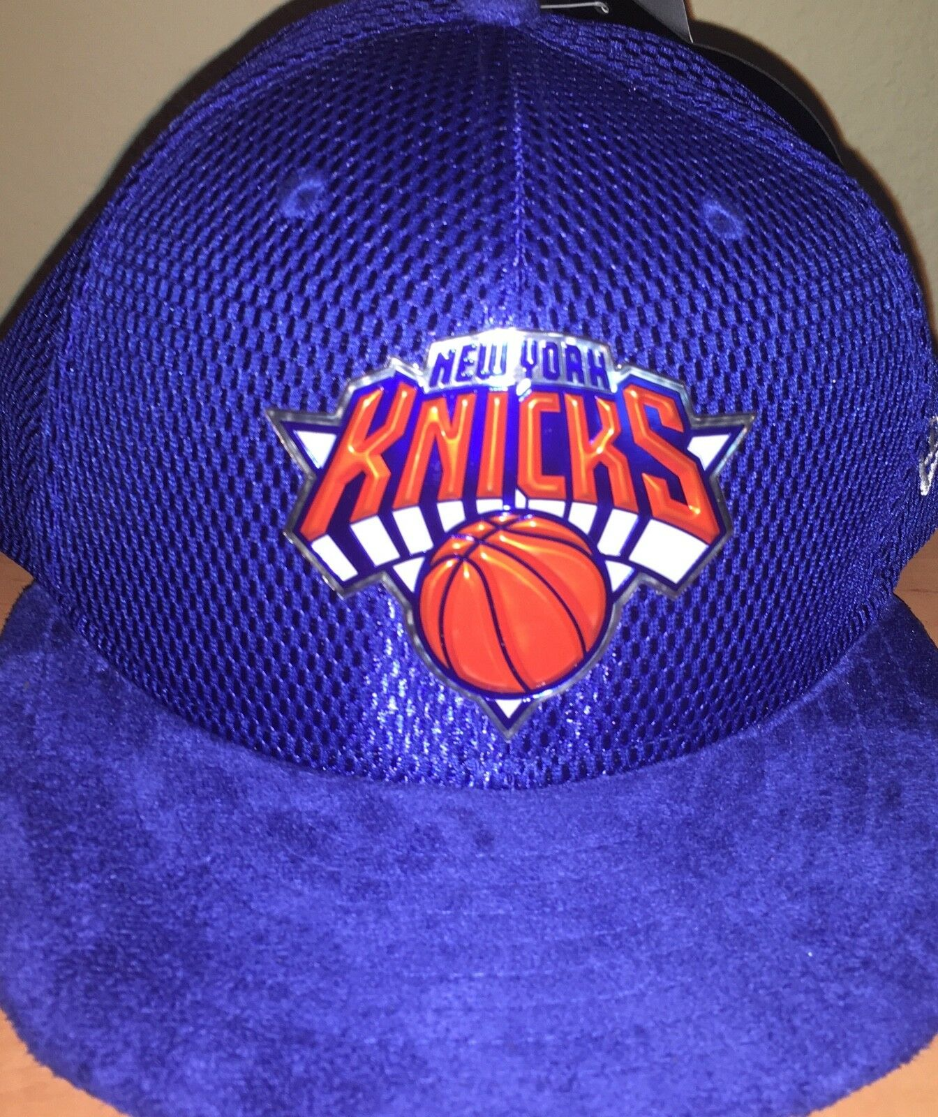 New York Knicks New Era 2017 NBA Draft 59FIFTY Official On Court Collection 59FIFTY Draft 7e8e62