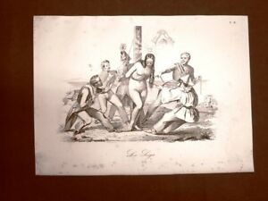 Incisione-d-039-allegoria-e-satira-Italia-sotto-assedio-del-nemico-Don-Pirlone-1851