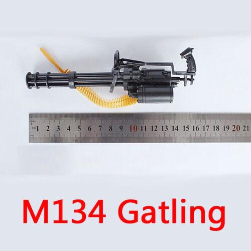 "4D assemble 1:6th Weapon Model M134 Minigun Gatling Machine Gun For 12/"" Figure"