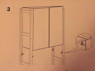 IKEA IVAR 6 Schrank Halterungen Halter Einhängung für Ivar Schränke Ersatzteil