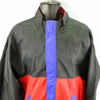 57c779cfd1 Cirrus Sun Mountain Windbreaker Track Jacket L Rain Large Wind Coat Adult  Zipper