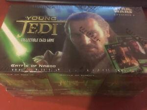 Verzamelingen STAR WARS YOUNG JEDI BATTLE OF NABOO SET OF 10 STARTER CARDS Losse kaarten spellen