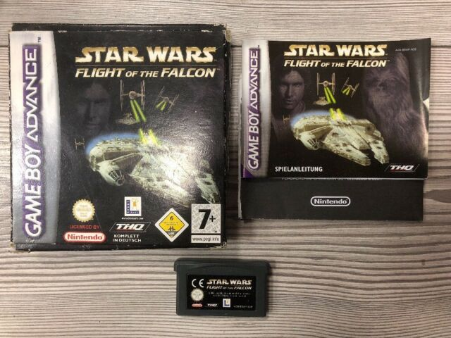 *** Star Wars: Flight Of The Falcon *** GBA GameBoy Advance, SP+DS *** Mit OVP