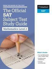 The Official SAT Subject Test in Mathematics Level 2 Study Guide by The College Board (2017, Paperback)