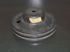 Chevrolet Passenger Car GM NOS V8 2 Groove A/C Water Pump Fan Pulley 587285