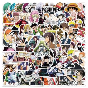 100Pcs Japan Anime Dr Stone Cartoon Stickers for Skateboad Laptop Vinyl Decals