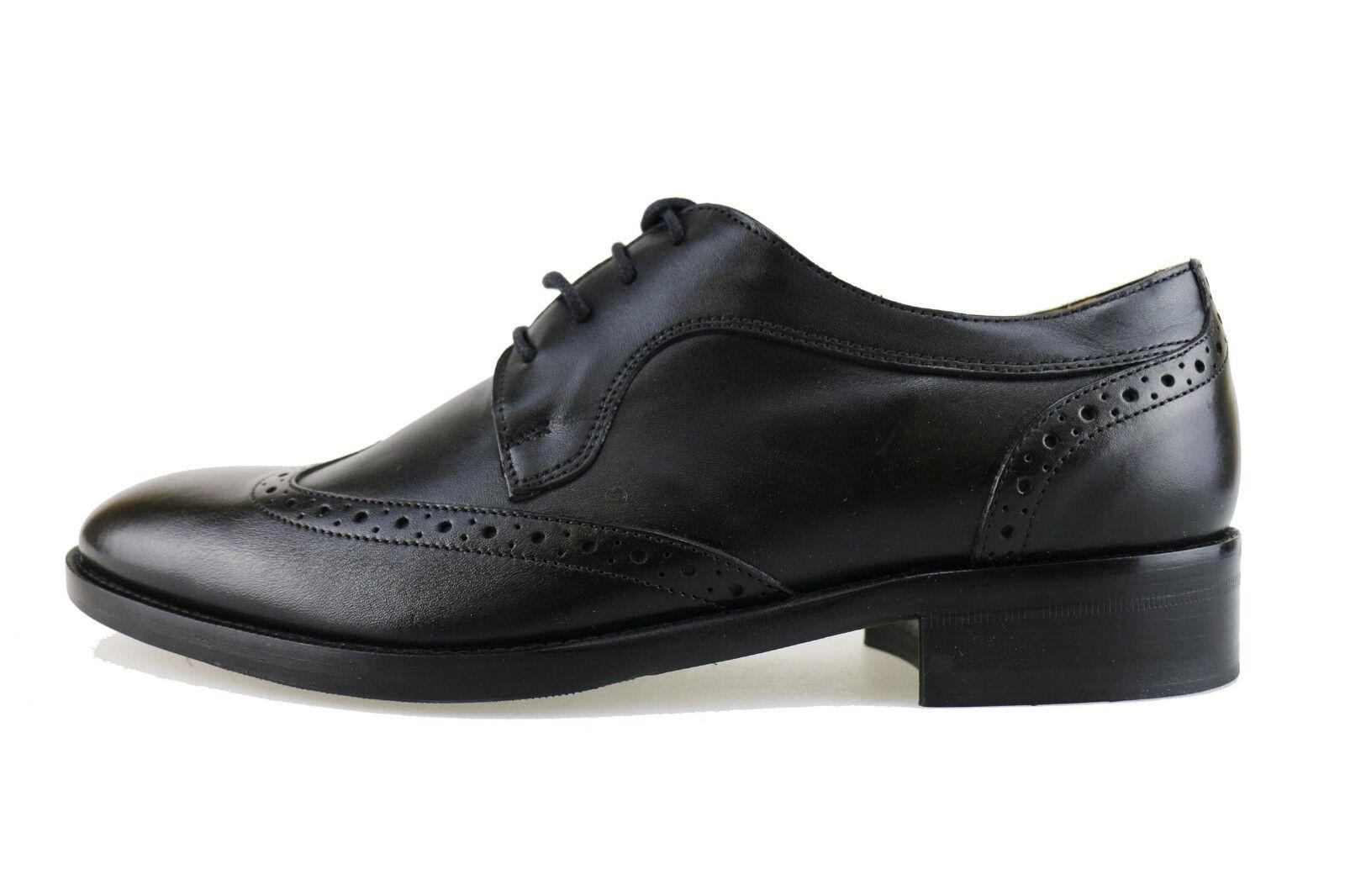 Schuhe Ah910 8 B Elegant Leather Hilton 42eu Classic Mens Schwarz k0wnOP