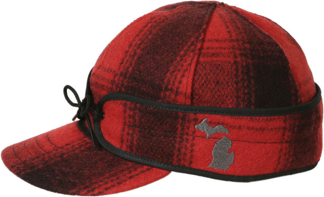 Stormy Kromer Original Cap With State Emblem-ak Various Sizes and Colors