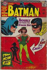 Batman #181 (1966, DC) 1st App Poison Ivy, Infantino, w/o Centerfold, G/G+