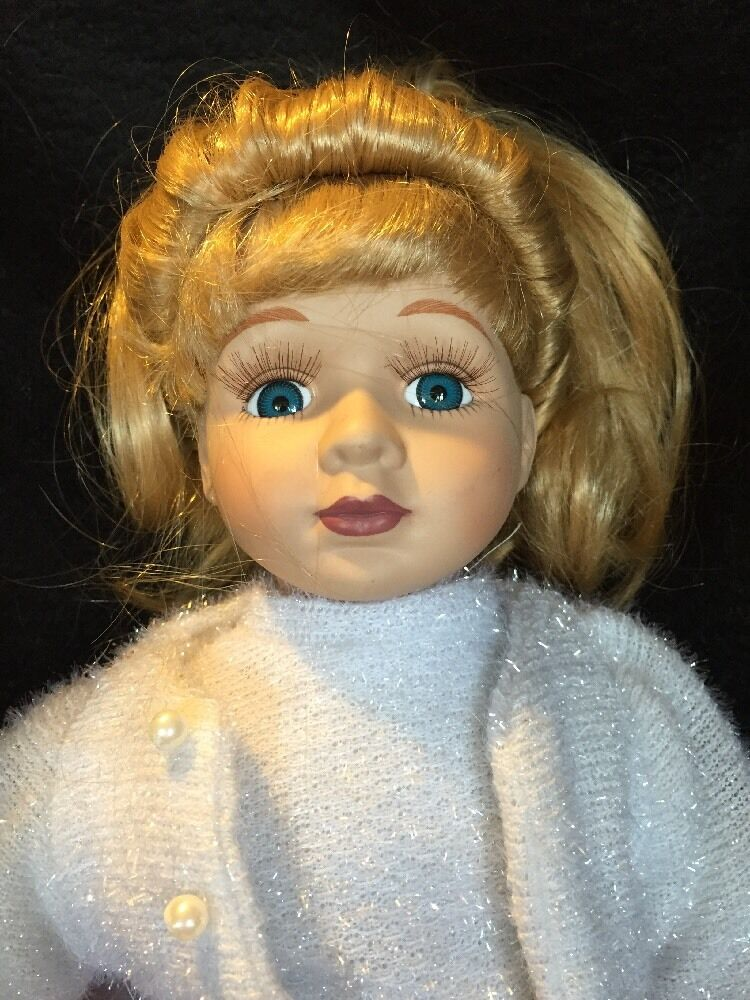 A 50's Doll Poodle Skirt Outfit Saddle Porcelain Schuhes 16 Inch Porcelain Saddle Eyelashes 255fb5