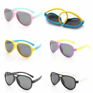 UV400-Polarized-Sunglasses-Boys-Girls-Sport-Cycling-Glasses-Children-Kids-I445