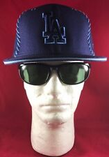 New Era 59Fifty MLB LA Dodgers Dark Blue Lht Blue Stitch O/L LA Lt Blue Flat Hat
