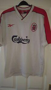 c152f736774 Mens Football Shirt - Liverpool FC - Reebok - Away 1998-2000 42 44 ...
