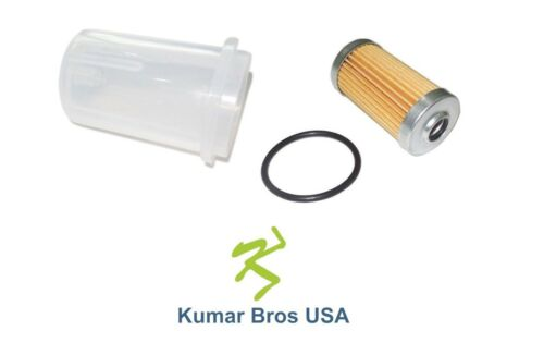 New Yanmar Fuel Filter with O-ring /& BOWL YM1300 YM1300D YM1502 YM1502D