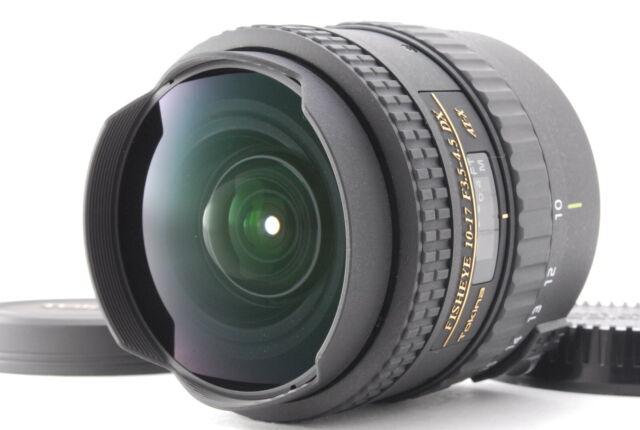[Mint] Tokina AT-X 107 FISHEYE 10-17mm f/3.5-4.5 DX AF Lens For Canon EF #0338