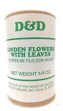 D&D Linden Flower With leaves (flores de tilo con hojas  1/4 oz