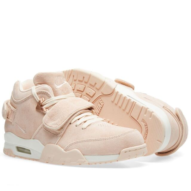 lowest price af0b4 c8214 Nike Air Trainer QS Victor Cruz Mens 821955-800 Orange Quartz Shoes Size  10.5