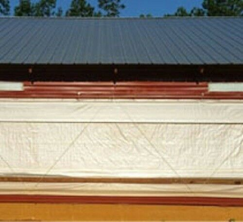 4x62.5 SOLID White Crawlspace Flooring Underlayment Vapor Barrier 250 sqft