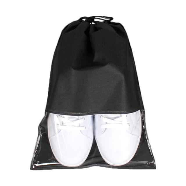 Women Men Shoes Bags Non-Woven Travel Accessories Drawstring Cloth Bags Pouches