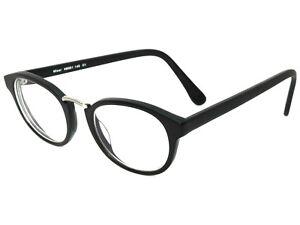 b6c1e438465 Image is loading Eyebuydirect-Eyeglasses-Micor-C1-Black-amp-Silver-Round-