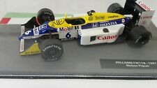 DIE CAST  WILLIAMS FW 11B NELSON PIQUET 1987    1/43   BOX  N/IXO