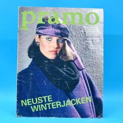Ddr Pramo 10/1986 Praktische Mode Schnittmuster Jugendmode Mollige Handschuhe Y