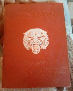 Vintage-Tigando-Orlando-FL-High-School-1938-Yearbook