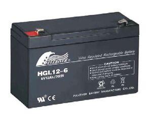 6 Volt 12ah Battery Suit Electric Toy Car 6v 6 Volt Replaces 3fm10