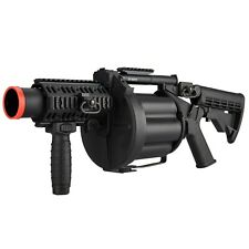 ICS GLM Airsoft Multiple Grenade Launcher Metal 40 mm Gas Revolving ICS-190