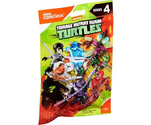 Mega Construx Ninja Turtles Sammelfiguren  24 Tüten  Serie 4